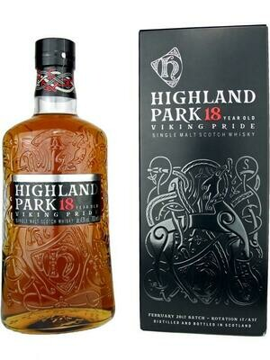 Highland Park 18 Years Viking Pride 43% 70CL