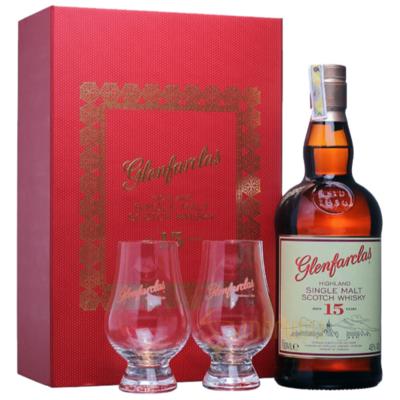 Glenfarclas 15 Years Giftpack 46% 70CL