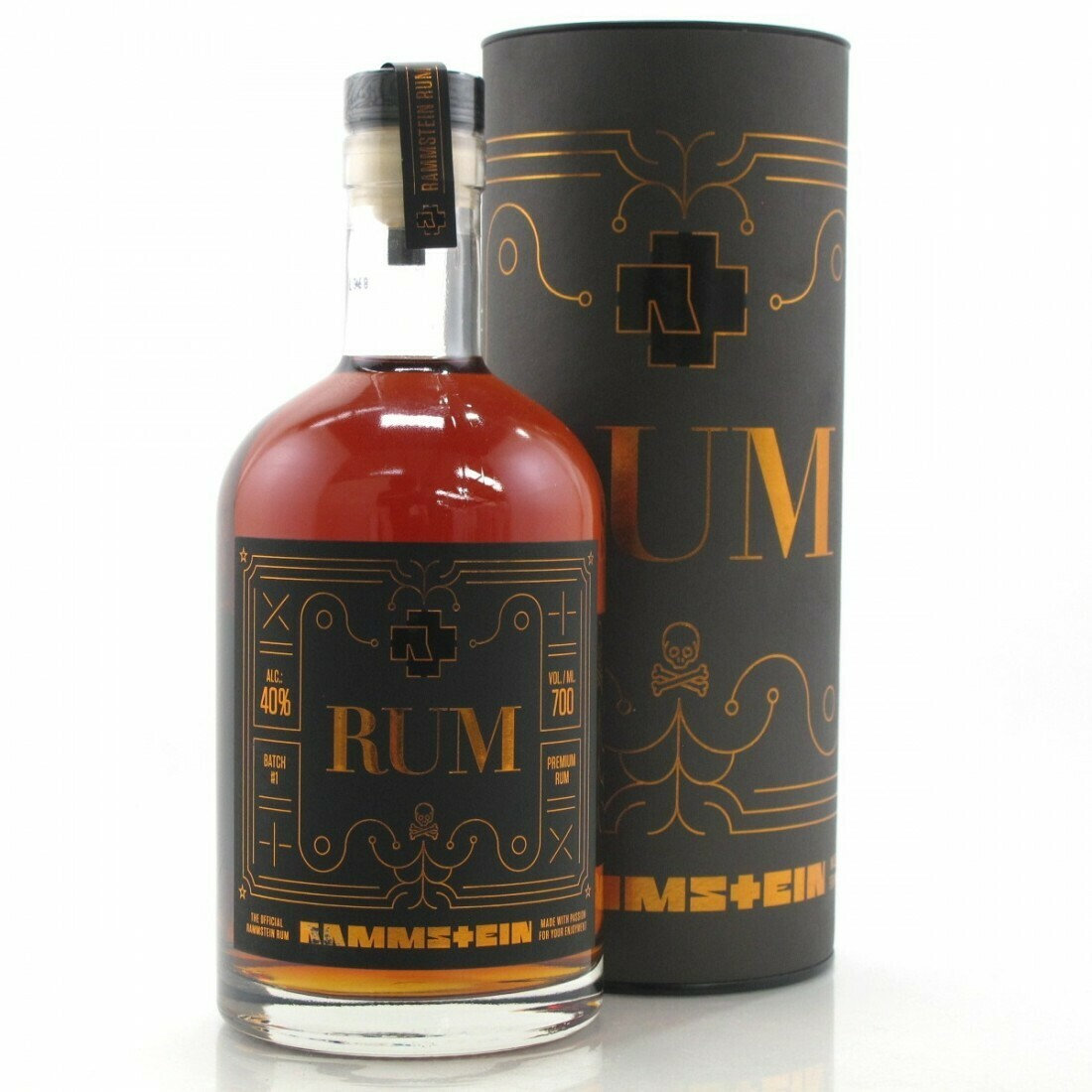 Rammstein Official Rum 40% 70CL