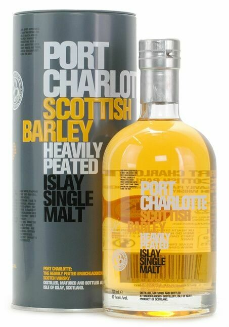 Port Charlotte Scottish Barley Heavily Peated 50% 70CL