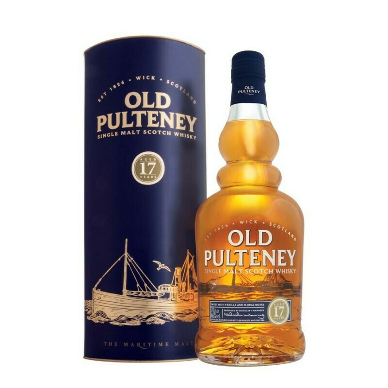 Old Pultney 17 Years 46% 70CL