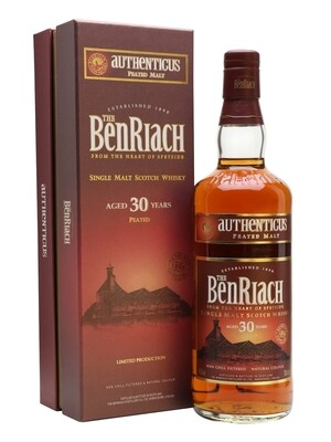 BenRiach 30 Years Authenticus Peated Malt 46% 70CL