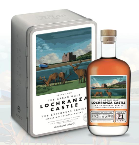 Arran Lochranz Castle Explorers Series 2 52,9% 70CL