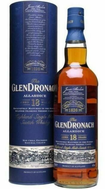 GlenDronach 18 Years 46% 70CL