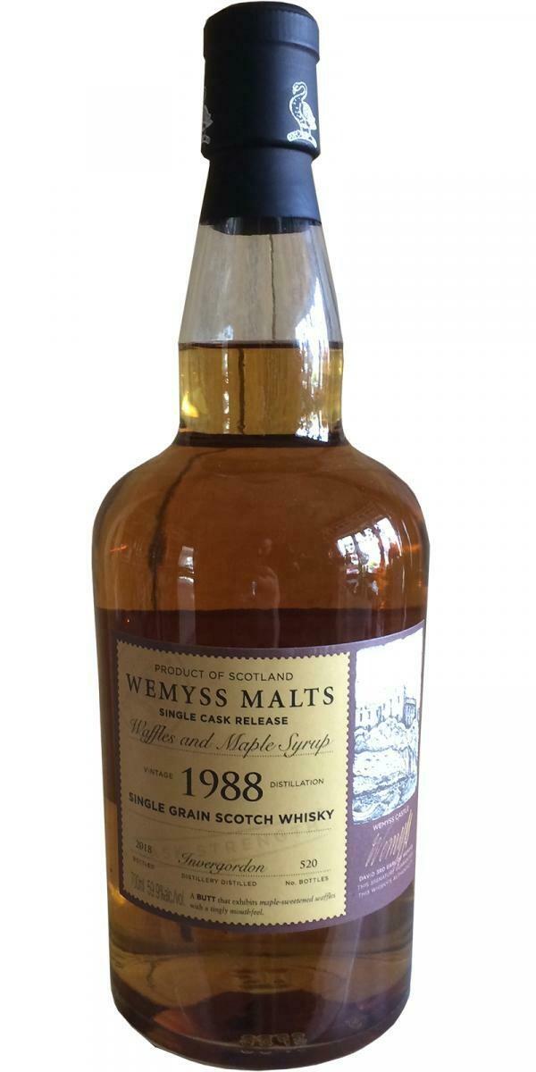 Invergordon 1988 Wemyss 30 Years 59.9% 70CL