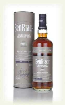 BenRiach 2005 14 Years Port Pipe 55.3% 70CL