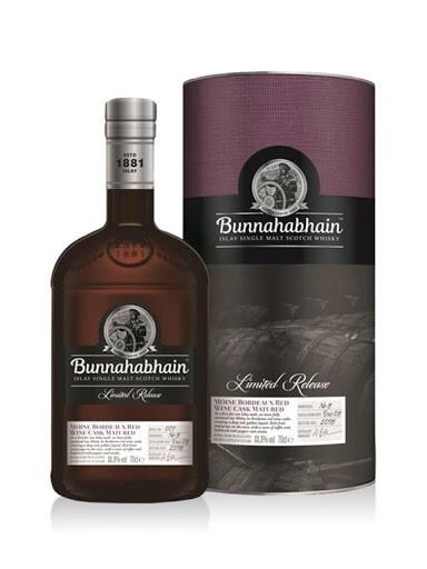 Bunnahabhain 2008 Mòine Red Wine Cask 58.1% 70CL