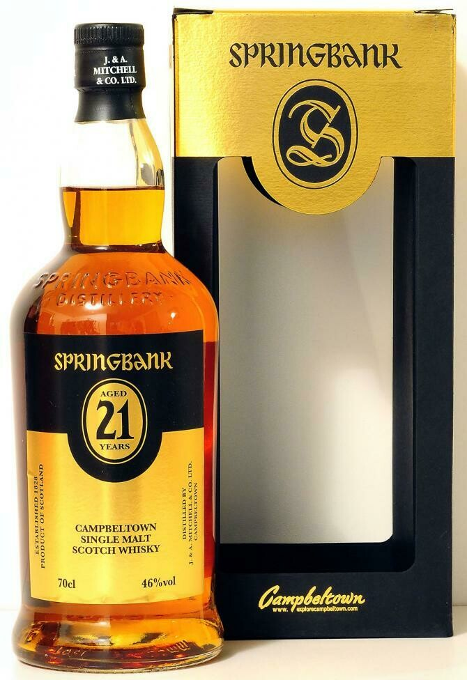 Springbank 21 Years 46% 70CL