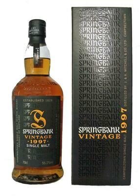 Springbank Vintage 1997 Batch N°1 55.2% 70CL