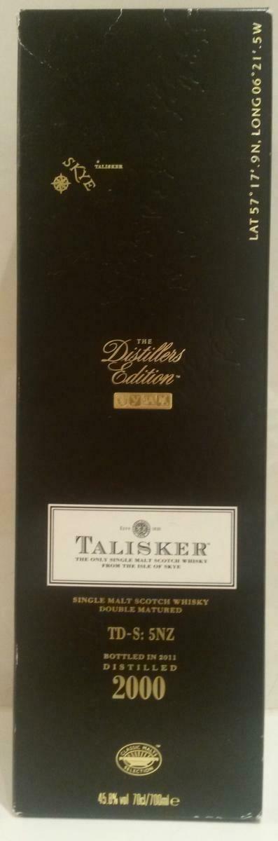 Talisker Distillers Edition 2000 45.8% 70CL