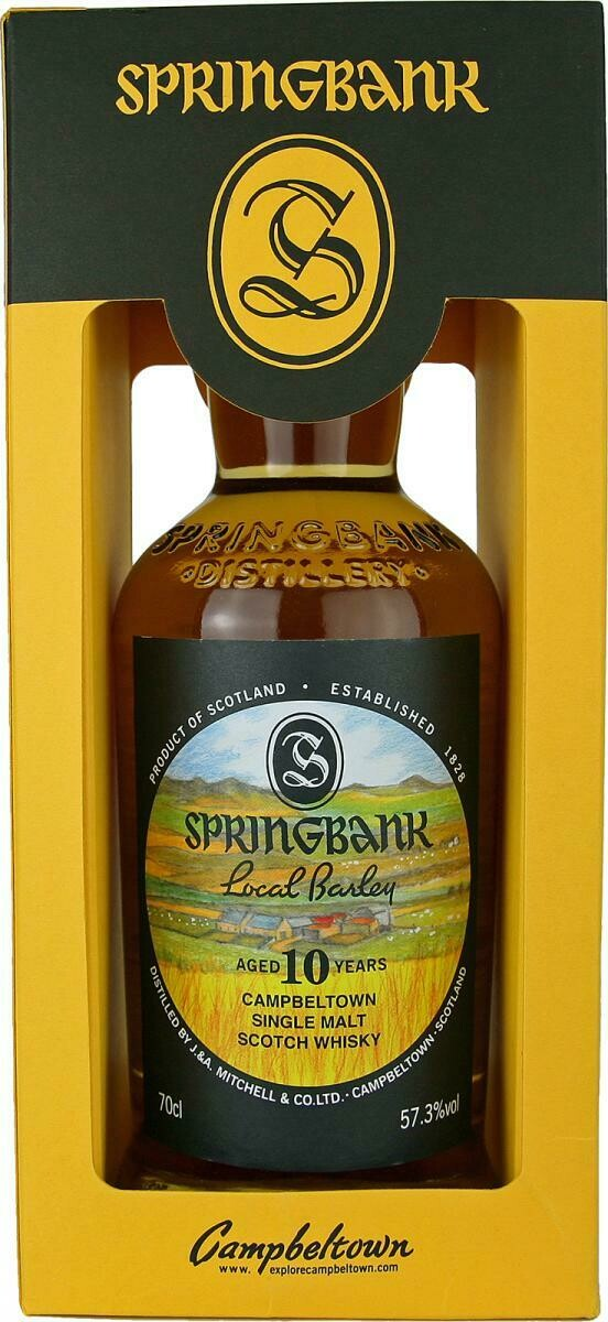 Springbank Local Barley 10 Years 57.3% 70CL