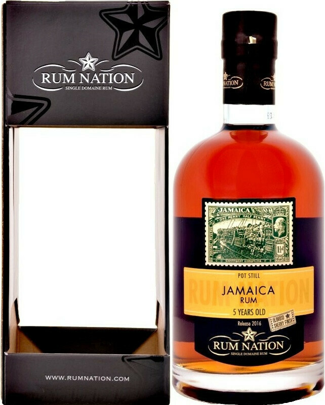 Jamaica Rum 5 Years Rum Nation 50% 70CL