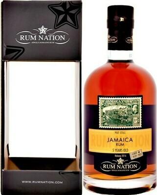 Jamaica Rum 5 Years Rum Nation 50% 70CL