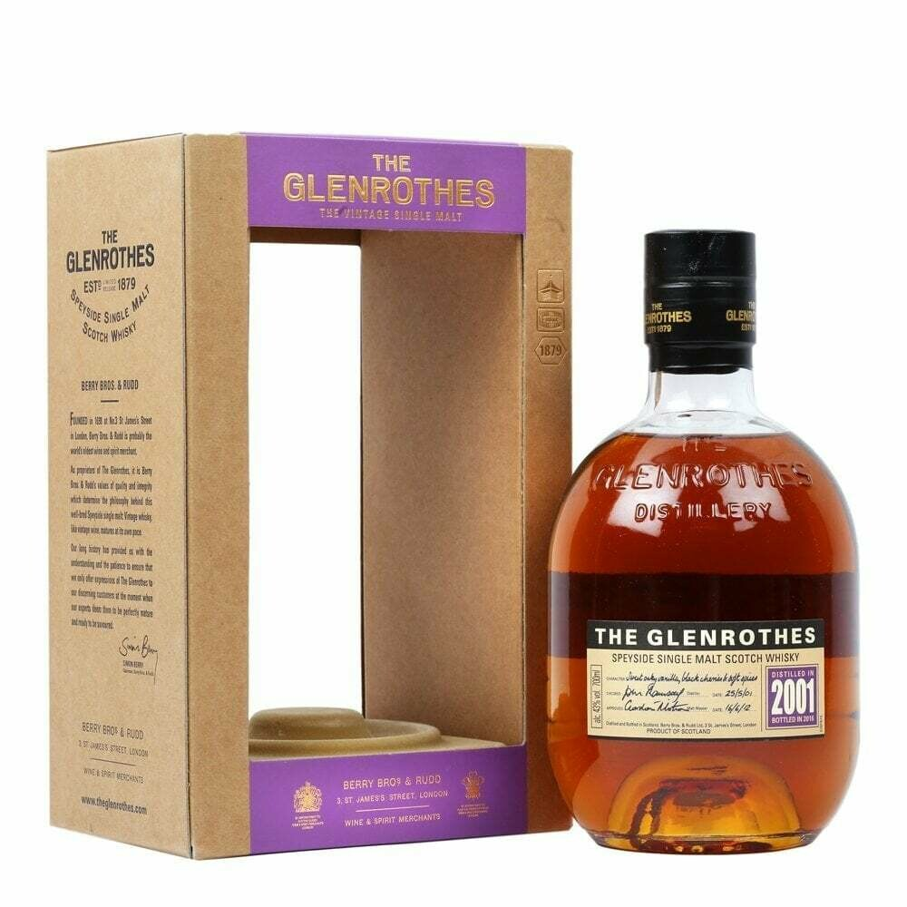 Glenrothes 2001 43% 70CL