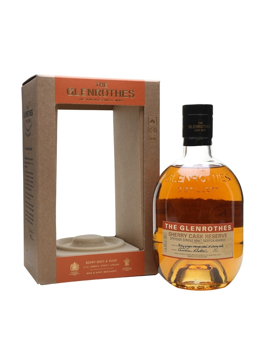 Glenrothes Sherry Cask Reserve 40% 70CL