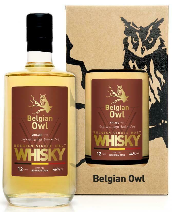Belgian Owl Vintage N°01 46% 50CL