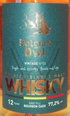 Belgian Owl Vintage N°02 77.2% 50CL