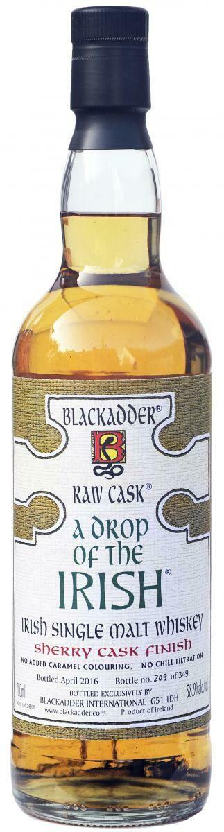 Blackadder A Drop Of The Irish 58.9% 70CL