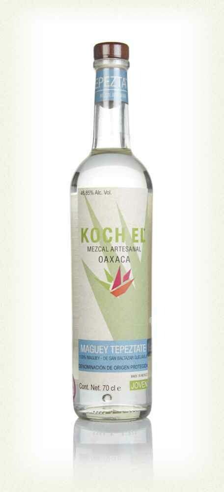 Mezcal Koch El De Oaxaca Espadin 100% Agave 47.08% 70CL