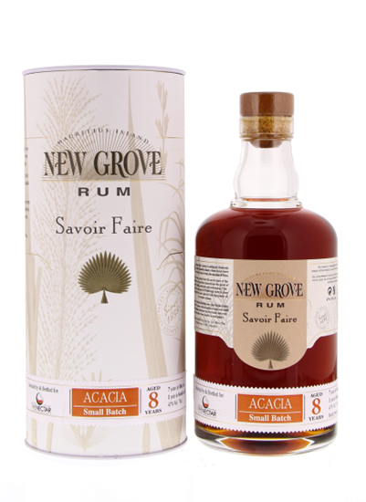 New Grove Rum Acacia Small Batch 8 Years 47% 70CL