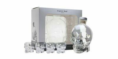 Crystal Head Vodka Gift Set 4 Shot Glazen 40% 70CL