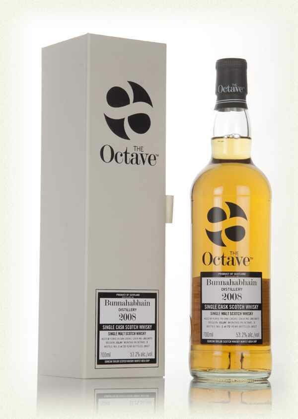 Bunnahabhain 2008 Single Cask Octave 53.4% 70CL