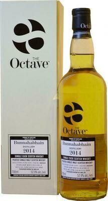 Bunnahabhain 2014 Peated The Octave 55.3% 70CL