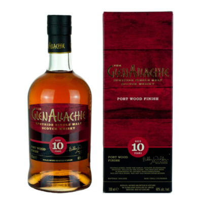 GlenAllachie 10 Years Port Wood Finish 48% 70CL