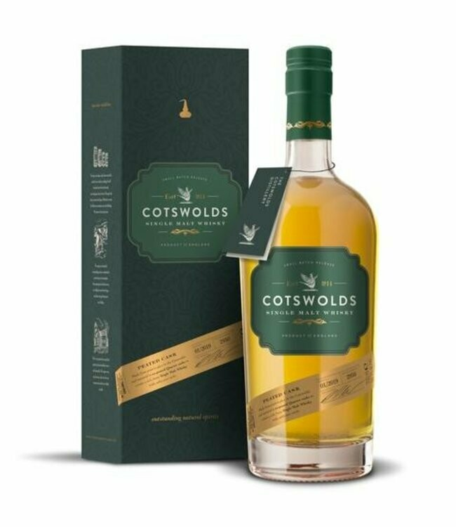 Cotswolds Peated Cask 59.3% 70CL
