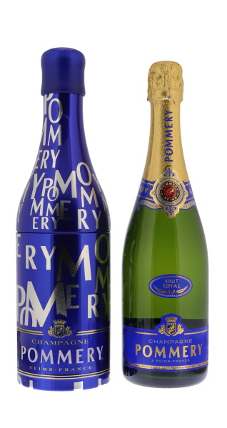 Pommery Champagne Metal Box