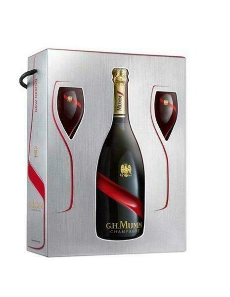 G.H. Mumm Champagne Brut Gordon Rouge 12% 75CL