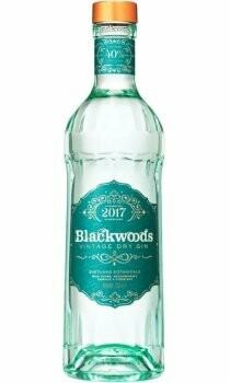 Blackwoods Vintage Dry Gin 40% 70CL