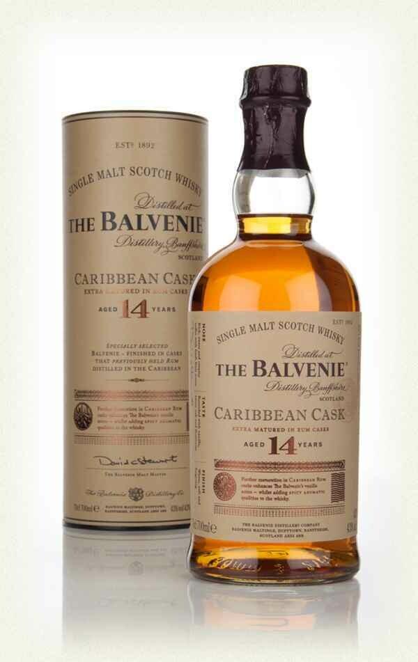 Balvenie 14 Years Old Caribbean Cask 43% 70CL