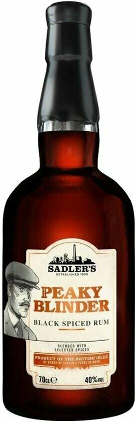Peaky Blinder Black Spice Rum 40% 70CL