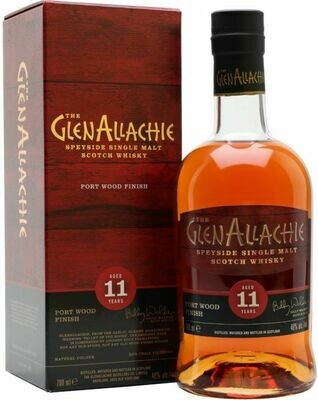 GlenAllachie 11 Years Port Wood Finish 48% 70CL
