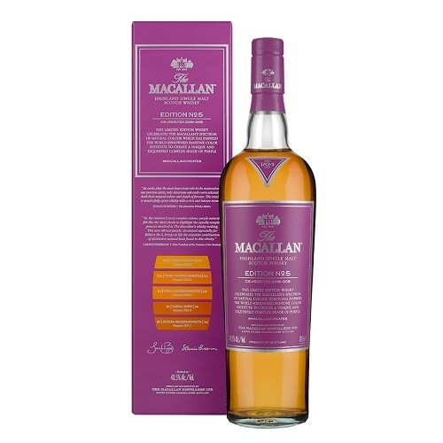 The Macallan Edition n°5 48.5% 70CL