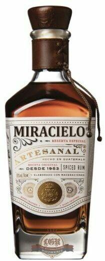 Spiced Rum Miracielo Artesanal 38% 70CL