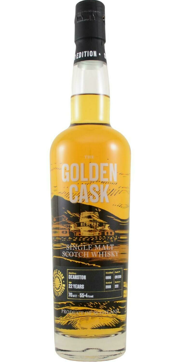 Deanston 22 Years Golden Cask 55.4% 70CL
