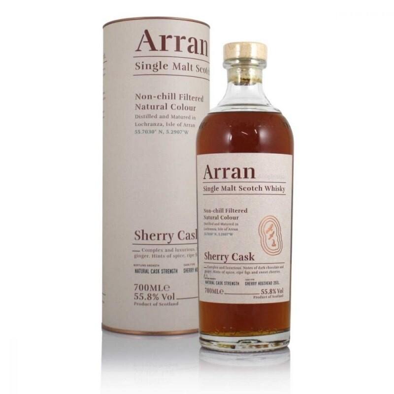Arran Sherry Cask 55,8% 70CL