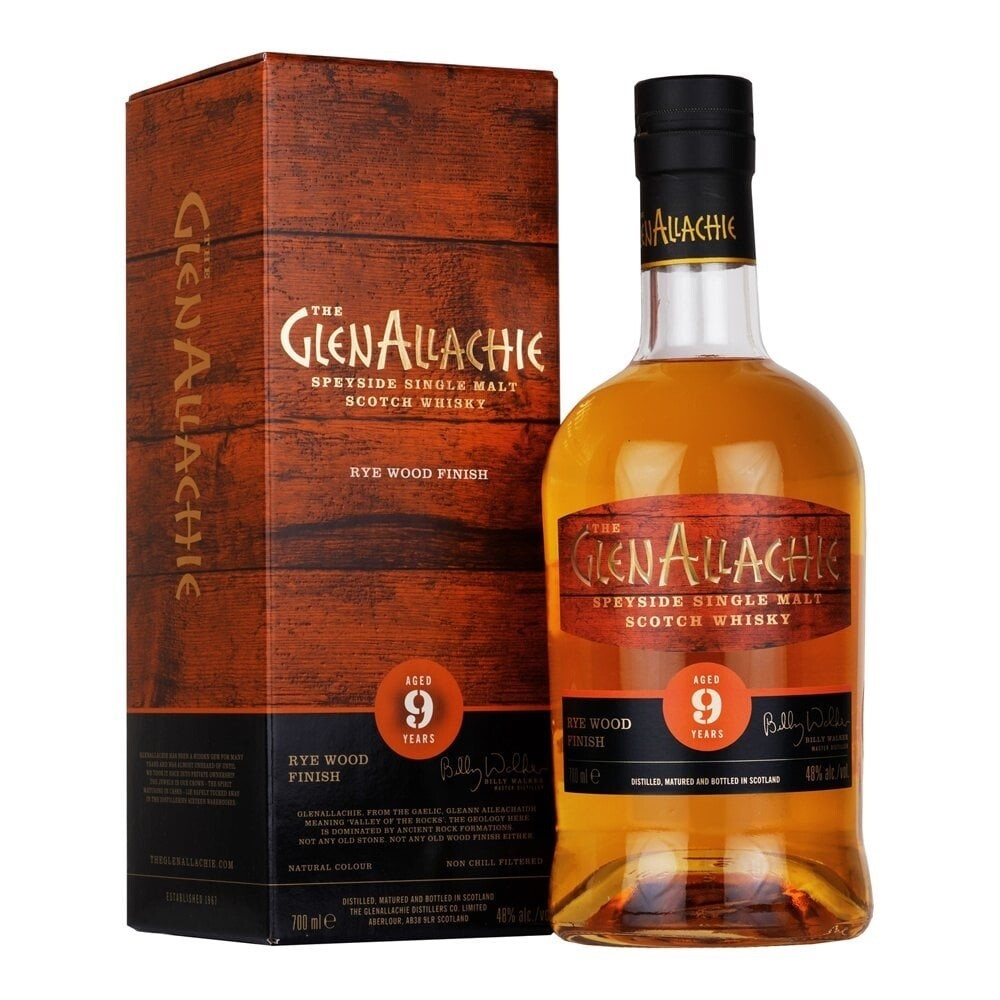 GlenAllachie 9 Koval Wood Finish 48% 70CL
