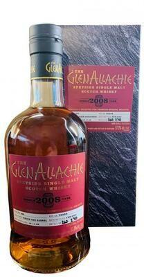GlenAllachie Virgin Oak Single Cask 2008 11Years 57.3% 70CL