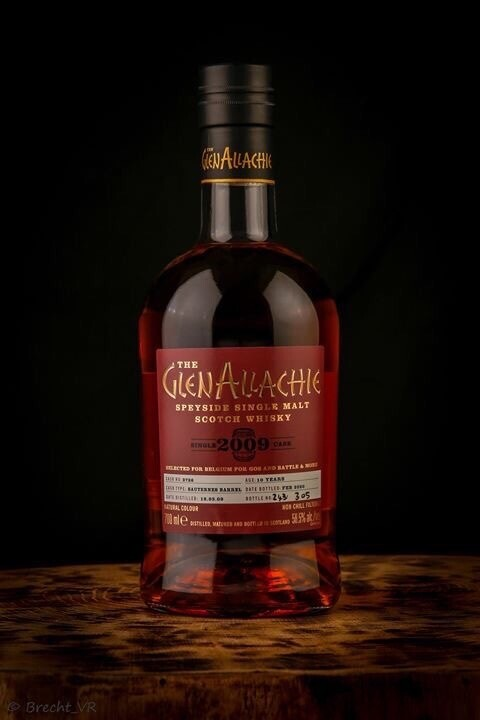 "GlenAllachie Sauternes Cask ""Gos & Battle And More"" 58,5% 70CL"