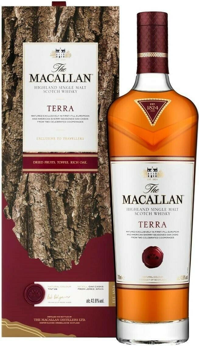 The Macallan Terra 43.8% 70CL