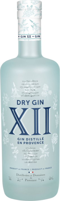 XII Dry Gin (Provonce) 42% 70CL