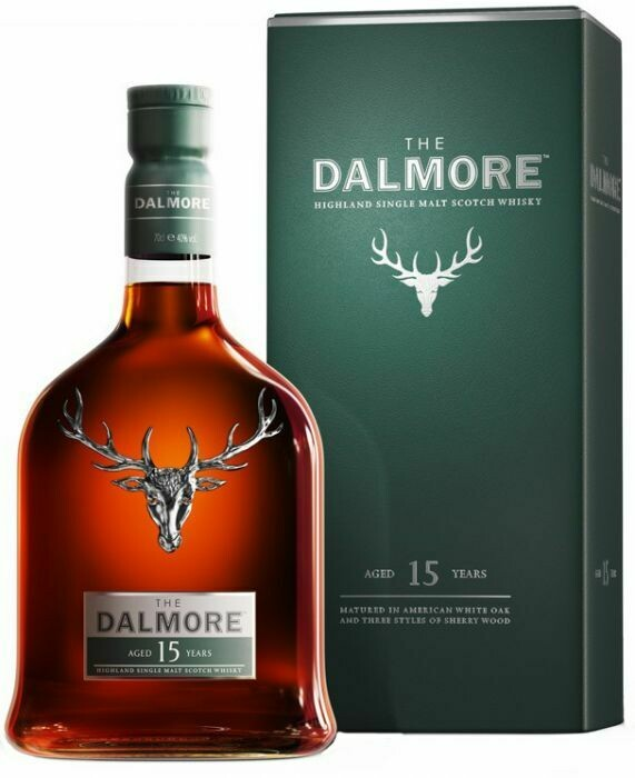 Dalmore 15 Years 40% 70CL