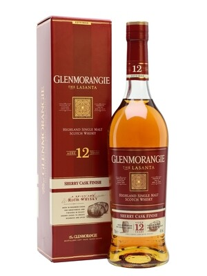 Glenmorangie 12 Years Lasanta 43% 70CL