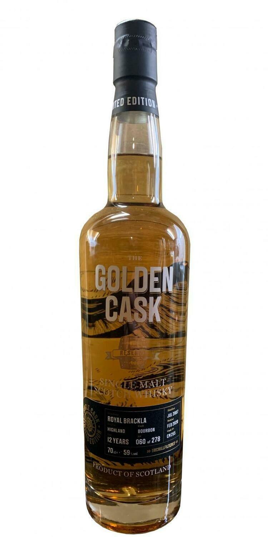 Royal Brackla Golden Cask 12 Years 59% 70CL