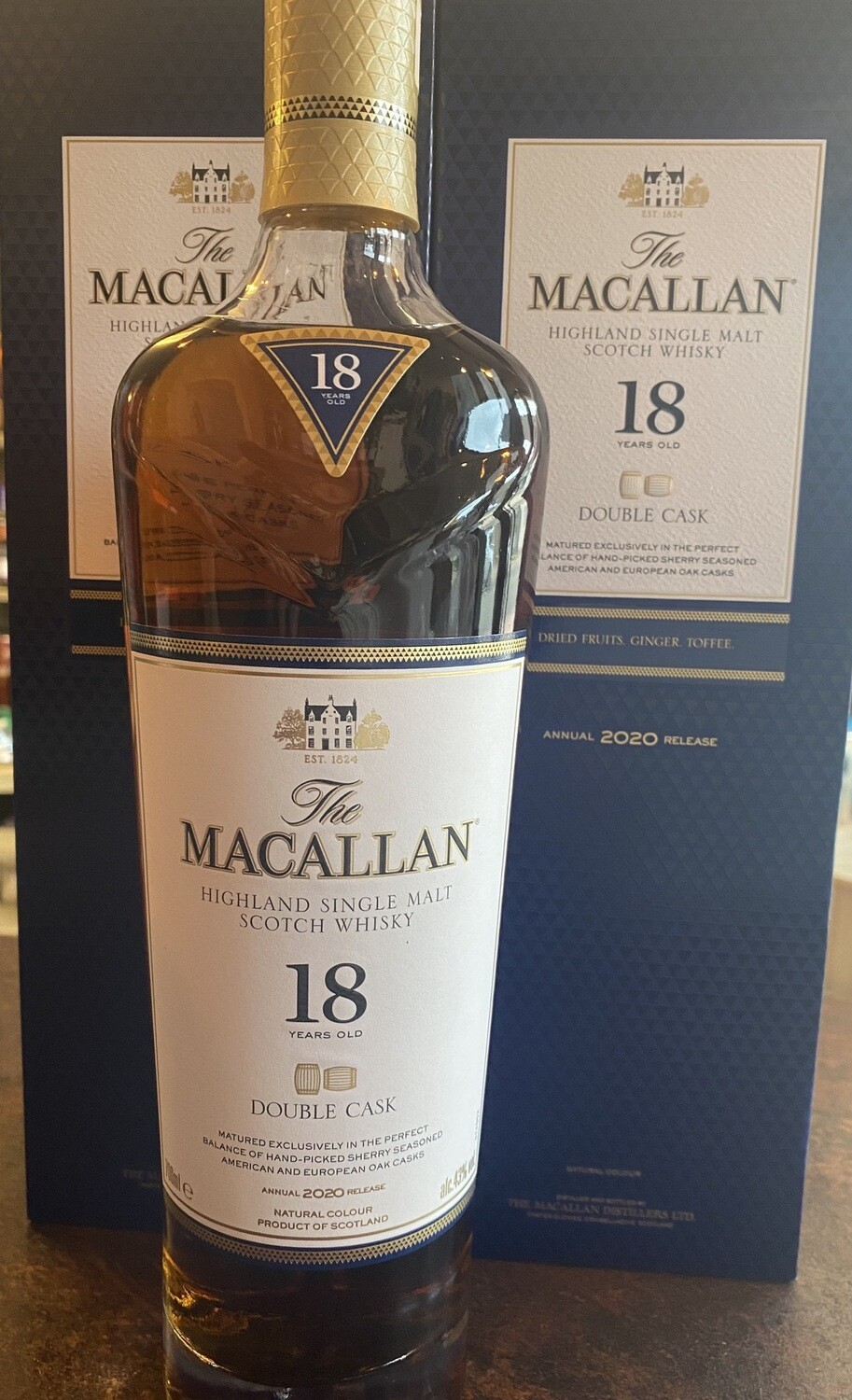 Macallan Double Cask 18Years 43% 70CL
