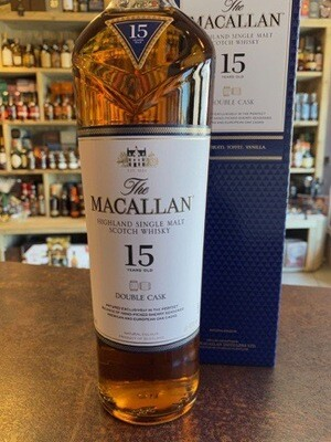 Macallan 15 Years Double Cask 43% 70CL