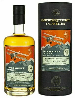 Miltonduff 2009 10Y Infrequent Flyers 58.5% 70CL